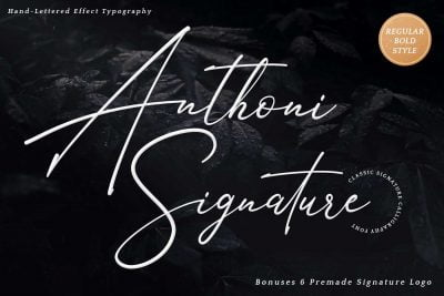 Anthoni Signature