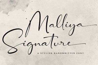 Malliya Signature